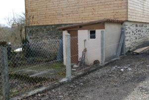 Réparation clôture Cicadem