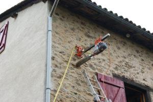 Percement de mur en pierre Cicadem Limousin