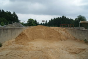 Sable ciment béton Limousin